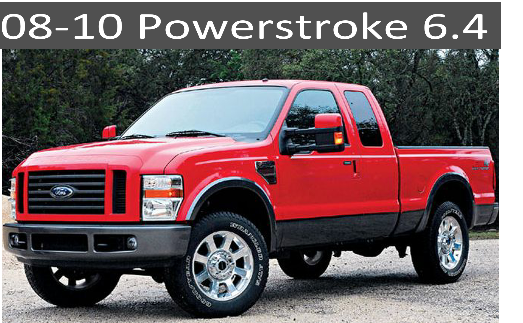 08-10 Ford 6.4 Powerstroke Diesel Parts