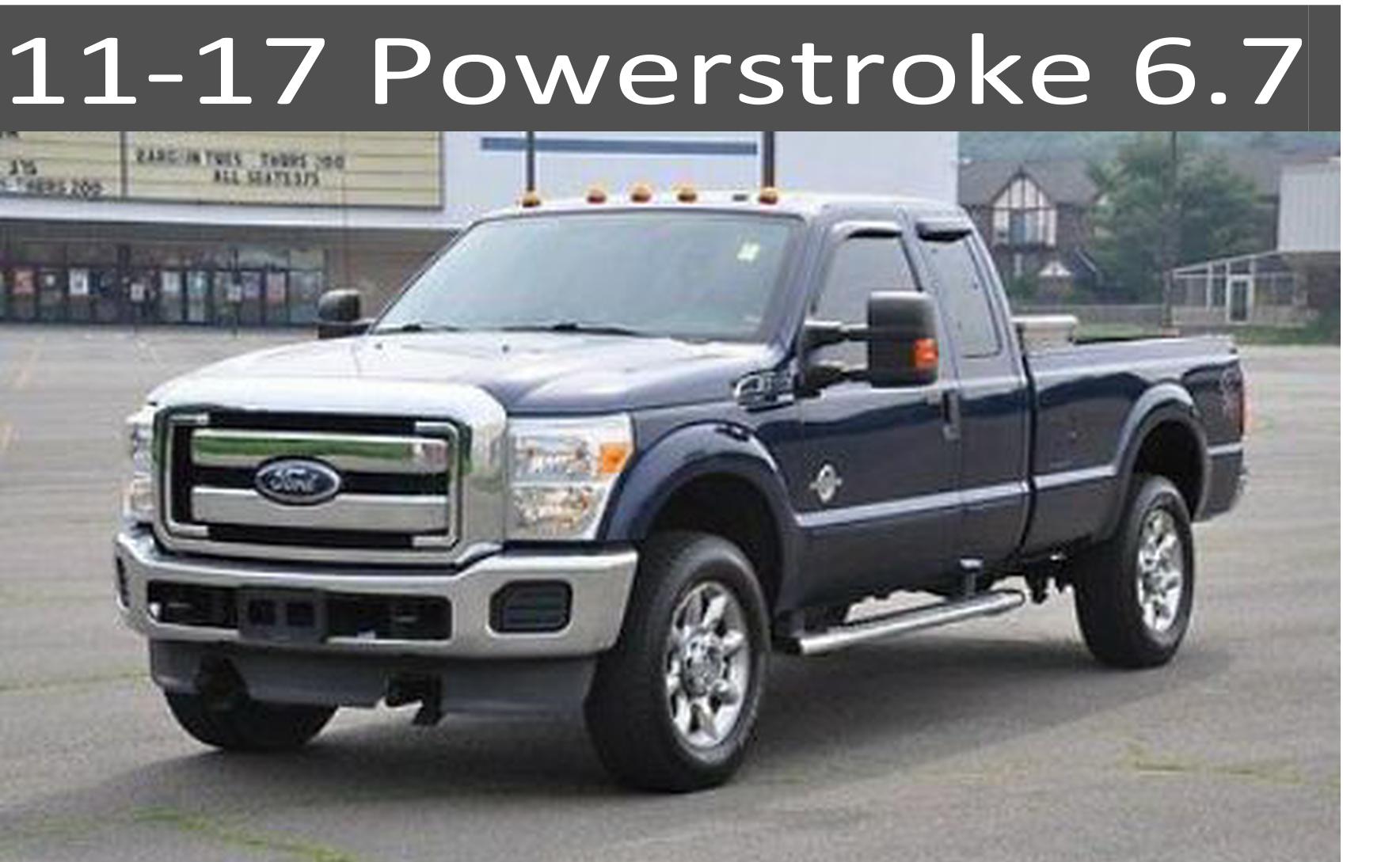 11-17 Ford 6.7 Powerstroke Diesel Parts