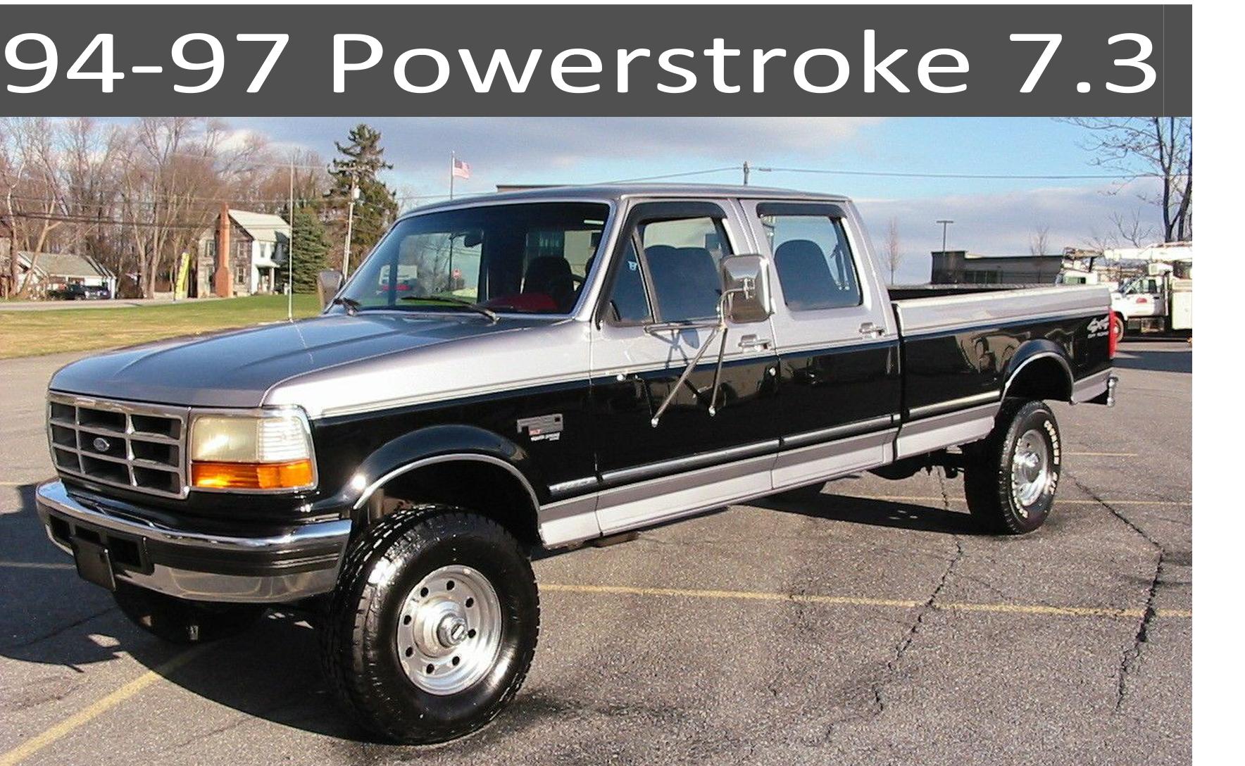 94-97 Ford 7.3 Powerstroke Diesel Parts