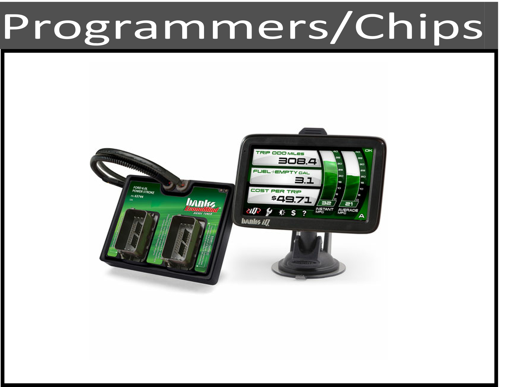 Programmers, Chips, and Power Modules