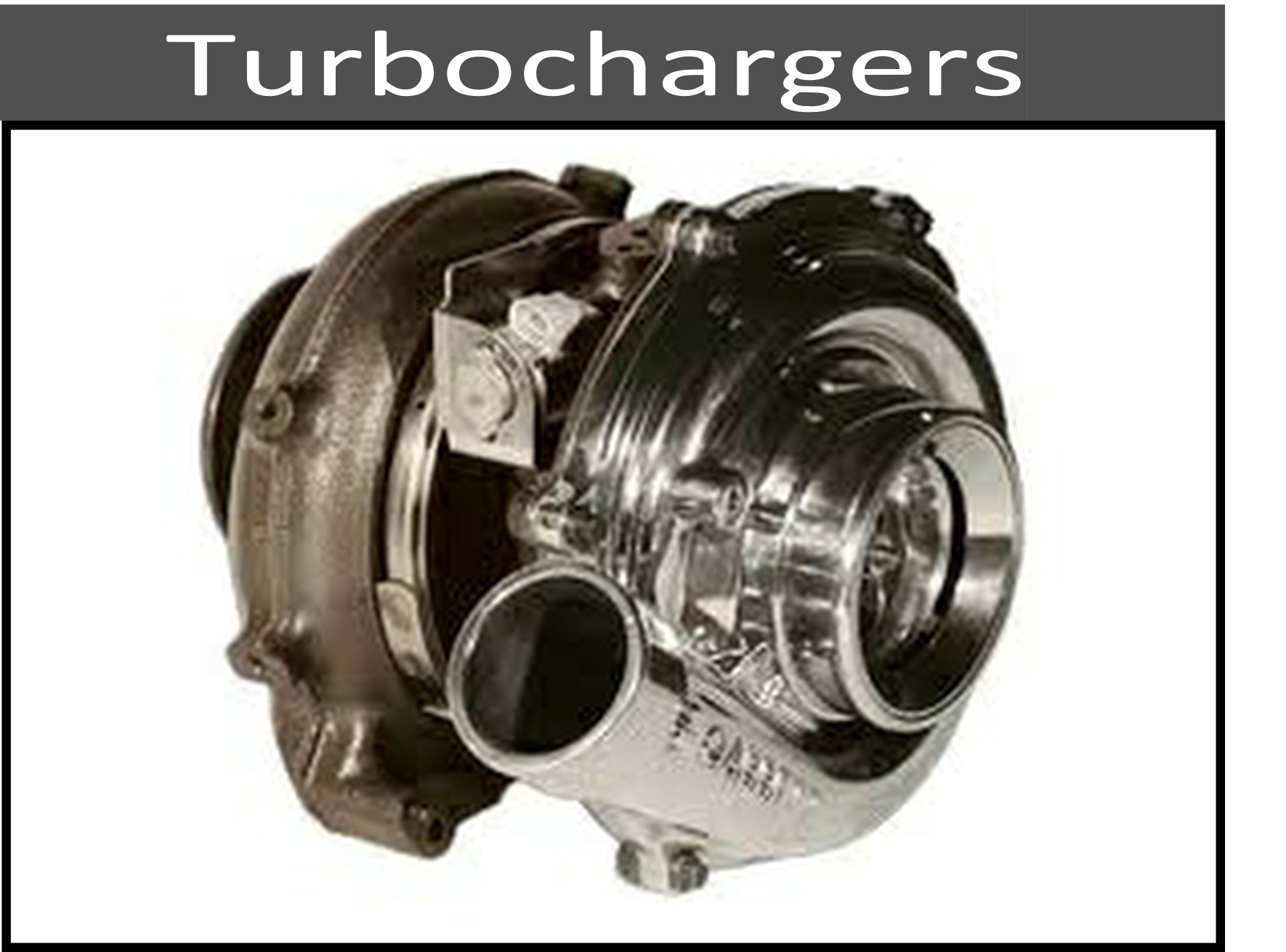 Stock and Performance Turbochargers and Parts