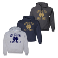 Northern Ohio Hoody - Athletic Heather, Navy, Charcoal