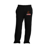 Girls Basketball Sweatpants - Black