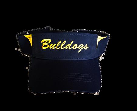 Bulldogs Visor - Navy/Gold