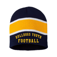 Bulldog Youth Football Beanie (RYCO43)