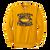Bulldog Youth Football Crewneck - Gold
