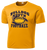 Bulldog Youth Football Performance Tee - Gold