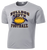 Bulldog Youth Football Performance Tee - Silver