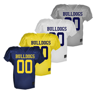 Bulldog Youth Football Authenticate Game Jersey