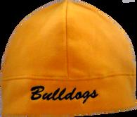 Bulldog Beanie - Gold