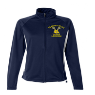 Olmsted Falls Ladies Lacrosse Warm Up Jacket - Navy/White
