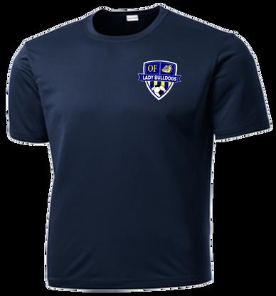 OF Lady Bulldogs Soccer DriFit Tee - Navy