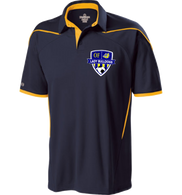 OF Lady Bulldogs Polo - Navy/Gold