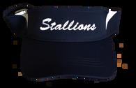 Stallions Visor - Navy/White