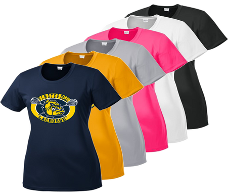 Ladies Cut - Navy, Gold, Silver, Neon Pink, White, Iron Grey