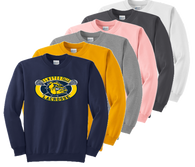 Crewneck - Navy, Gold, Ath. Heather, Pale Pink, Charcoal, White