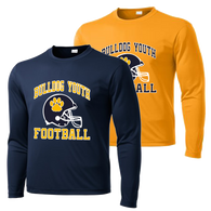Bulldog Youth Football Performance LS Tee