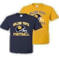 Bulldog Youth Football Tee