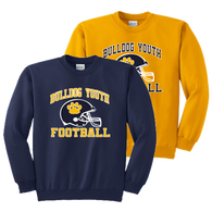 Bulldog Youth Football Crewneck