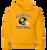 Bulldog Youth Football Hoody  - Gold