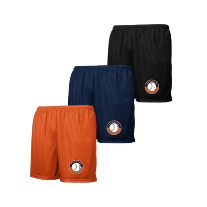 Shield Logo Left Leg - Navy, Deep Orange or Black