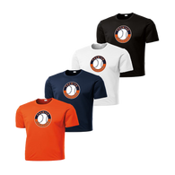 Full Front Shield Logo - Deep Orange, Navy, White and Black