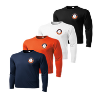 Shield Logo on Left Chest - Navy, Deep Orange, White and Black