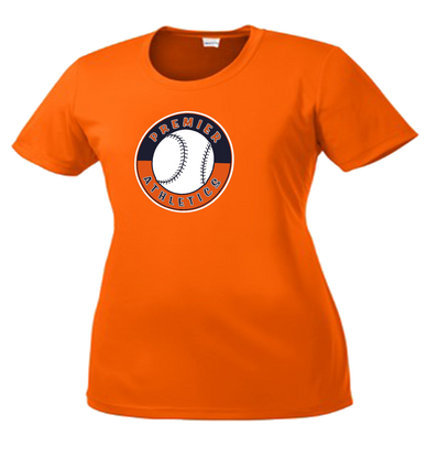 Full Front Shield Logo - Deep Orange