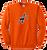 Full Front A's Logo - Orange