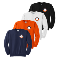 Left Chest Shield Logo - Navy, Orange, White and Black