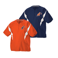 A's Logo Left Chest - Orange and Navy