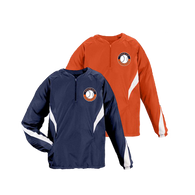 Shield Logo Left Chest - Navy and Orange