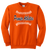 Full Front Ball Stitch Logo - Orange