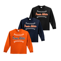 Full Front Ball Stitch Logo - Orange, Navy and Black