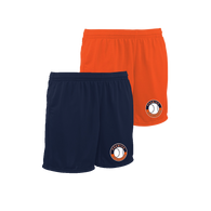 Shield Logo Left Leg - Navy, Orange