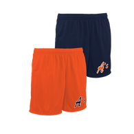 A's Logo Left Leg - Navy, Orange