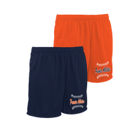 Premier Script Logo Left Leg - Navy and Orange