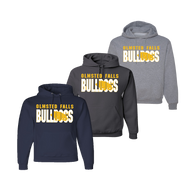 Bulldog Shadow Hoody - Navy, Charcoal, Athletic Heather