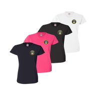 LPD Ladies Tee - Navy,Bright Pink,Black,White
