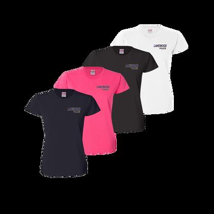 LPD Ladies Tee - Black,Bright Pink,Navy,White