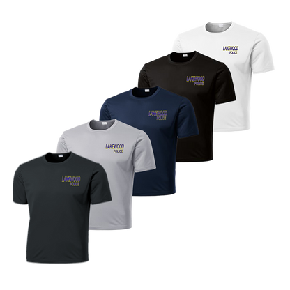 LPD Dry Fit Tee - Iron Grey,Silver,Navy,Black,White