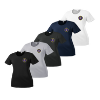 LPD Ladies Dry Fit Tee - Black,Silver,Iron Grey,Navy,White