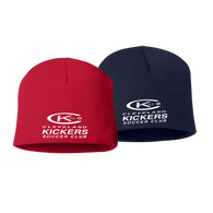 Cleveland Kickers Beanie - Red and Navy