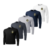 LPD Dry Fit Long Sleeve Tee - Black,Iron Grey,Silver,Navy,White