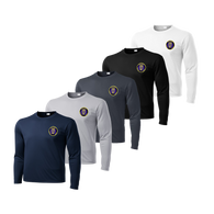 LPD Dry Fit Long Sleeve Tee - Navy,Silver,Iron Grey, Black,White