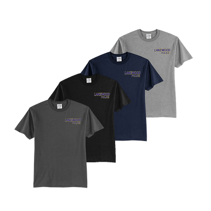 LPD Youth Tee - Charcoal,Black,Navy,Athletic Heather