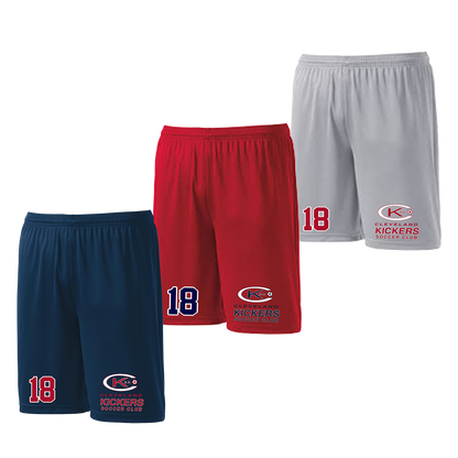 Cleveland Kickers Shorts - Navy,Red,Silver