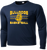 OFBA Long Sleeve Dry Fit - Navy