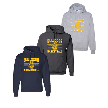 OFBA Basketball Hoody - Navy, Charcoal, Athletic Heather
