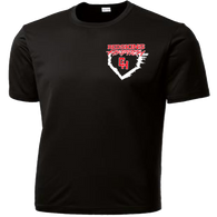Heights Softball 2015 Performance Tee (S028)